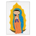 Notre Madame de Guadalupe Cartes De Vœux