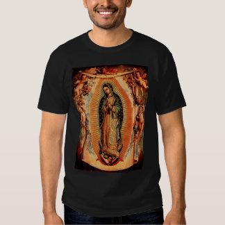 Notre Madame de Guadalupe et des anges T-shirts