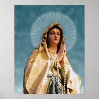 Notre Madame de Lourdes Poster