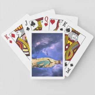 Notre Madame des cartes de jeu classiques de Cartes À Jouer