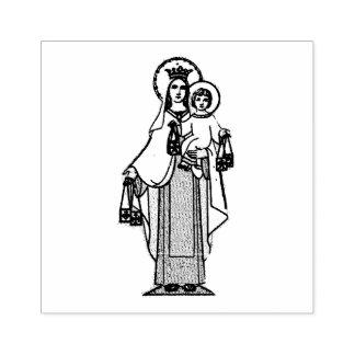 Notre Madame du mont Carmel W omoplate