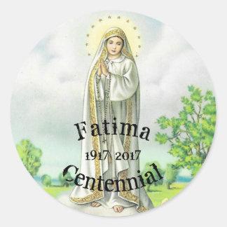 Notre Madame Of Fatima Sticker