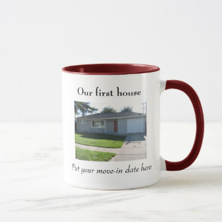 Notre première tasse de maison