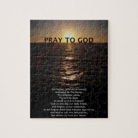 Notre prière de père puzzle