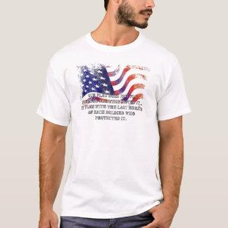 Notre T-shirt de jour de vétérans de drapeau