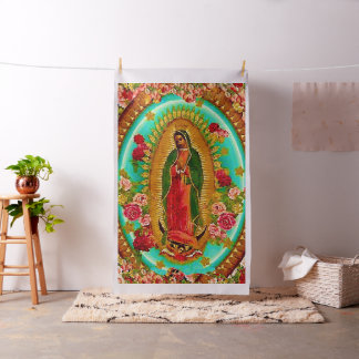 Notre Vierge Marie mexicain saint de Madame Tissu