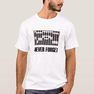 N'oubliez jamais le T-shirt d'abaque