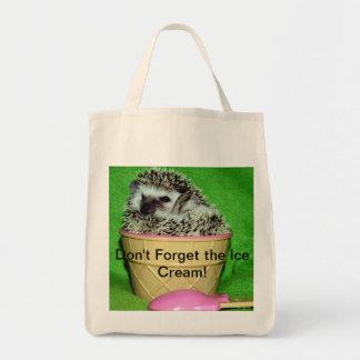 N'oubliez pas la crème glacée ! sacs