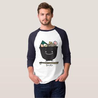 Nouilles de Japonais d'algue de porc de baguette T-shirt