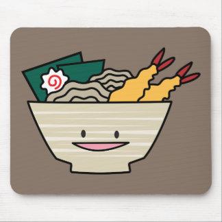 Nouilles de Japonais de crevette de nori de bol de Tapis De Souris