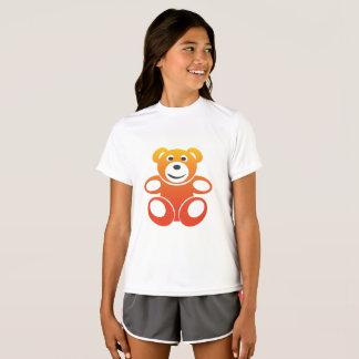 Nounours de sourire d'été t-shirt