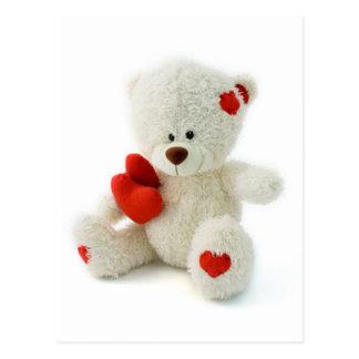 Nounours mignon de Love* d'ours *Teddy Carte Postale