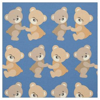 Nounours mignon tissu