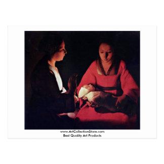 Nourrisson de Newlyborn (la nativité ?) Cartes Postales