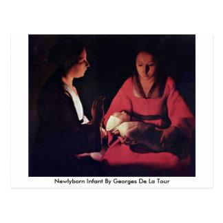 Nourrisson de Newlyborn par Georges de La Tour Cartes Postales
