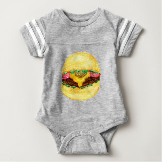 Nourriture 2 d'hamburger body