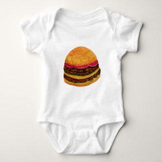 Nourriture 3 d'hamburger body
