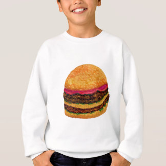 Nourriture 3 d'hamburger sweatshirt