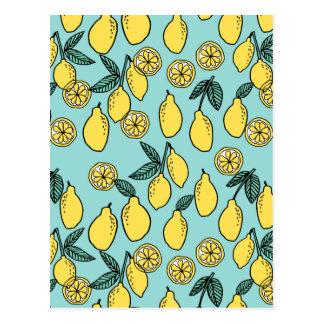 Nourriture d'agrume de citron/fruit d'été/Andrea Cartes Postales