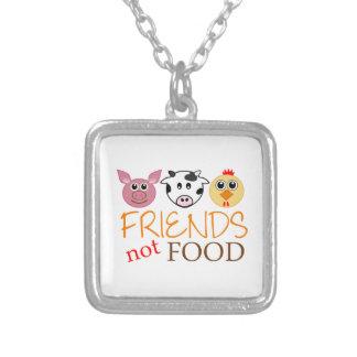 Nourriture d'amis pas collier