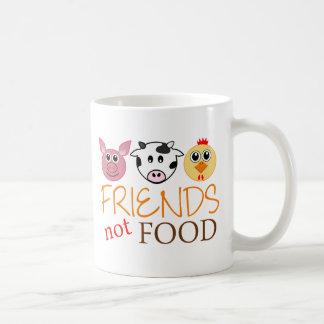 Nourriture d'amis pas mug