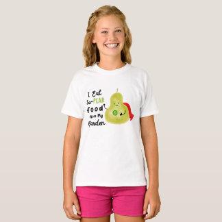 Nourriture de la poire Su de mon jardin - T-shirt