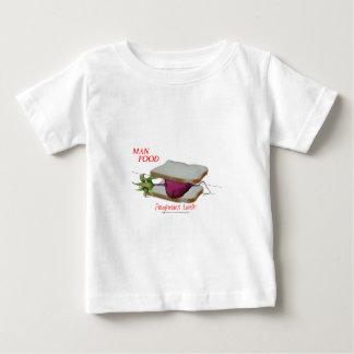 Nourriture élégante de l'homme de Fernandes - T-shirt Pour Bébé