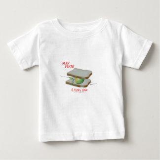 Nourriture élégante de l'homme de Fernandes - une T-shirt Pour Bébé