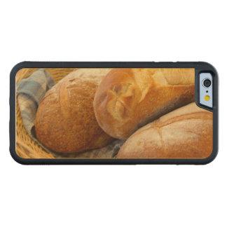 Nourriture - pain - juste loafing autour coque iPhone 6 bumper en érable