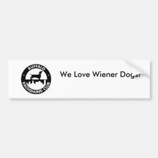 Nous aimons des chiens de saucisse ! Adhésif pour  Autocollant Pour Voiture