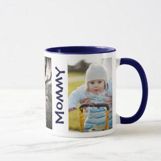 NOUS AIMONS la tasse de jour de mères de photos