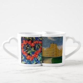 Nous aimons l'abbaye de Downton Lot De Mugs