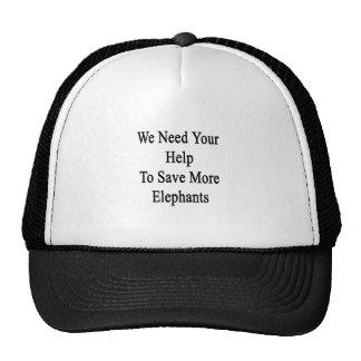 Nous avons besoin de votre aide sauver plus casquettes de camionneur