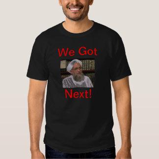 Nous avons obtenu après t-shirts