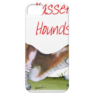 nous chiens de basset de luv des fernandes étuis iPhone 5