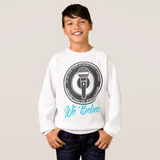 Nous croyons le sweatshirt du garçon