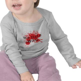 Nous détestons la guerre t-shirt