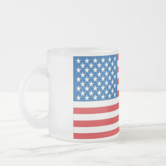 nous drapeau grand tasse givré