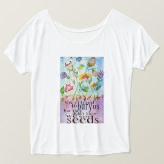 Nous étions le T-shirt des femmes de graines
