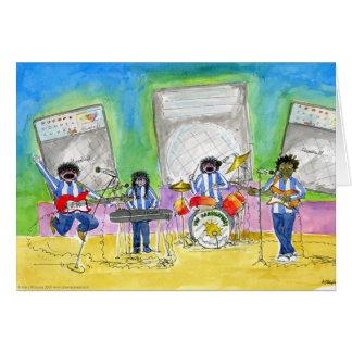Nous l'appelons musique :  Salutations générales Carte De Vœux
