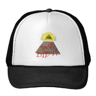 nous l'avons fait (l'illuminati) casquette de camionneur