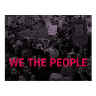 Nous les femmes de personnes le 10 mars /100 carte postale