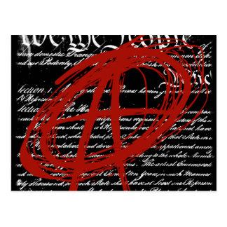 Nous les personnes : Anarchie Carte Postale