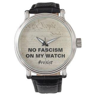 Nous les personnes qu'aucun fascisme sur ma montre