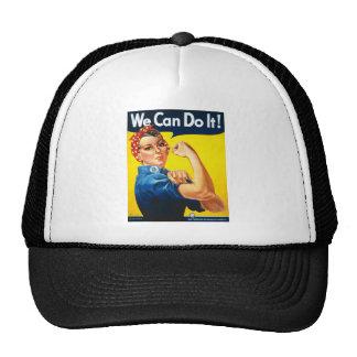 Nous pouvons le faire casquettes de camionneur