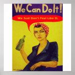 Nous pouvons le faire !  Nous juste ne nous senton Poster