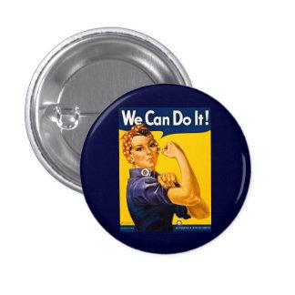 Nous pouvons le faire ! Rosie le cru 2ÈME GUERRE Badge
