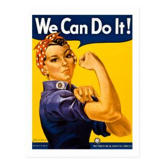 Nous pouvons le faire ! Rosie le cru 2ÈME GUERRE Carte Postale