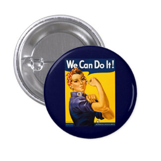 Nous pouvons le faire ! Rosie le cru 2ÈME GUERRE M Badge