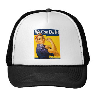 Nous pouvons le faire ! Rosie le cru 2ÈME GUERRE M Casquette De Camionneur